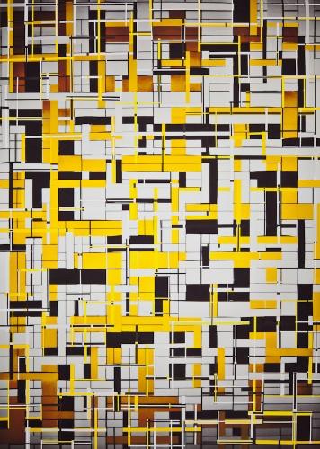 Konstrukt 68, 118 x 84 cm