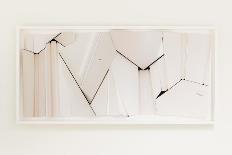 Framed Paper Modell for Wall Nr. 3