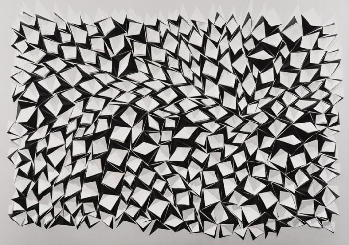 Partition 45, 140 x 200 x 2 cm, 2016