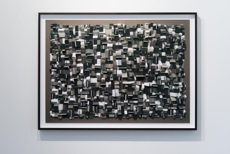 Partition 18, 100 x 140 x 3 cm, 2014