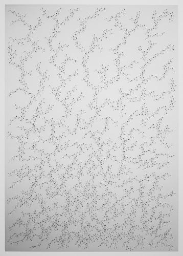 Nullpunkte 10, 140 x 100 x 2cm, 2016
