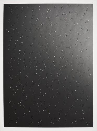 Nullpunkte 8, 110 x 8 x 2 cm, 2016